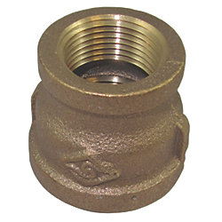 3/8X1/8IN NPT BRZ REDUCER COUPLING