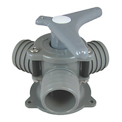 Y VALVE FOR 1-1/2IN HOSE/BASE MOUNT