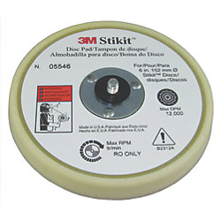 6IN STIKIT LOW FINISHING DISC PAD
