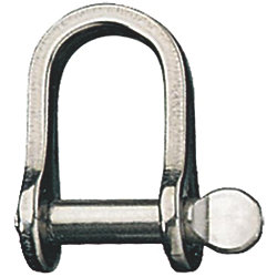 D SHACKLE 1/4IN X 7/8IN