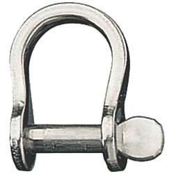 BOW SHACKLE 5/32IN X 3/8IN