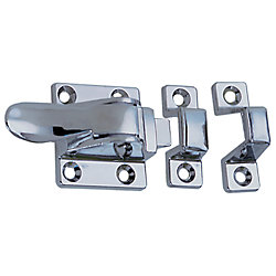 1-1/2X1-7/8IN CHR ZINC CUPBOARD CATCH W/