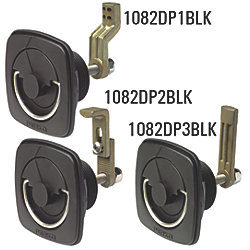 3/8 TO 3IN BLK FLUSH LATCH