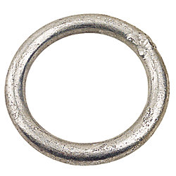 GALVANIZED ROUND RING 1/4INX1-1/2IN