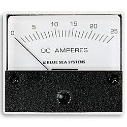 0-25A DC AMMETER ANALOG INTERNAL SHUNT