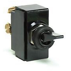 S.P.S.T., PLASTIC TOGGLE SWITCH