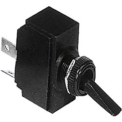SPST BLK TOGGLE SWITCH ON/OFF