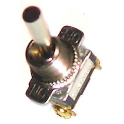 SPST CHR TOGGLE SWITCH ON/OFF