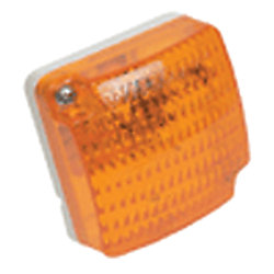 STUD MOUNT AMBER PC CLEARANCE LIGHT