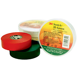 3M™ Scotch Vinyl Electrical Tape For Color Coding - 35