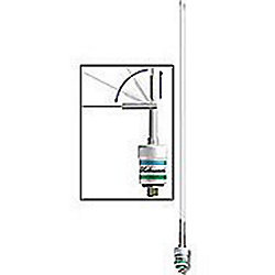 36IN 3DB VHF LOW PROFILE SS ANTENNA