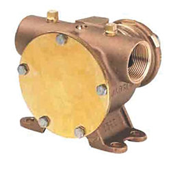 62 GPM PULLEY PUMP NEOPRENE 1-1/4IN NPT