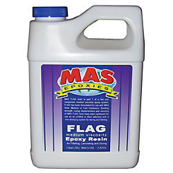 1/2GA FLAG MED VISCOSITY RESIN