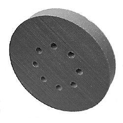 6IN HARD VEL SANDING PAD ORBITAL