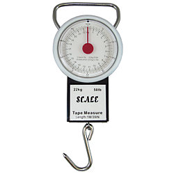 50# EASY READ SCALE/TAPE MEASURE