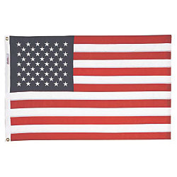 4FTX6FT SEWN U.S. FLAG-NYLON
