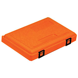 ORANGE RECTANGULAR FLAT F/534