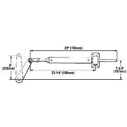 CYLINDER BA150-9TM INBOARD TYPE