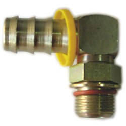 7/8-14 HOSE ELBOW 3/4IN HOSE F/900/1000