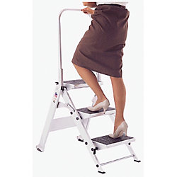 LITTLE JUMBO 2 STEP LADDER W/BAR