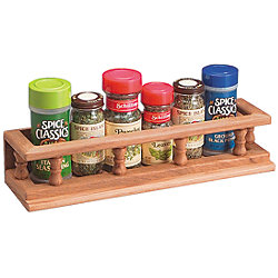 LARGE SPICE RACK, 231/2INX23/4INX33/4