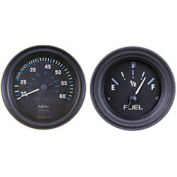 2IN ECLIPSE FUEL GAUGE E-F