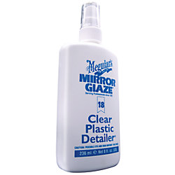 8OZ PROFESSIONAL CLEAR PLASTIC CLEANER