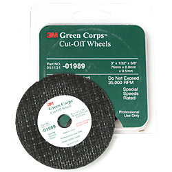 3M™ Green Corps™ Cut-Off Wheels