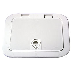 ACCESS GRAY HATCH 13-3/4INX23-3/4IN