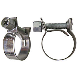 SIZE G8 SS MINI CLAMP 19/64 TO 21/64IN