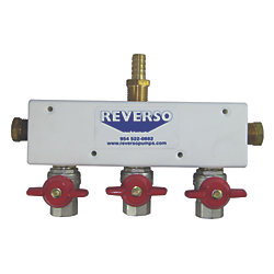 VALVE BLOCK ASSEMBLY  3 VALVES