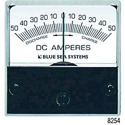 50-0-50A DC MICRO ZERO CENTER AMMETER