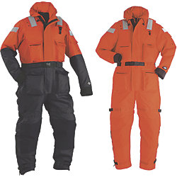 TYPE III/V WORKSUIT XXXL-ORANGE/BLK