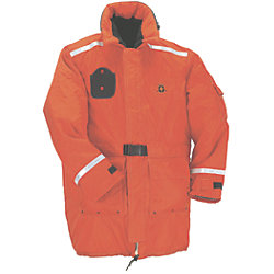 TYPE III FLOAT COAT/BELT XLG ORANGE