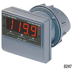 0-150A AC DIGITAL MULTIMETER W/ALARM
