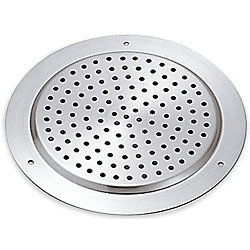 ROUND SATIN STAINLESS VENT 3 15/16IN