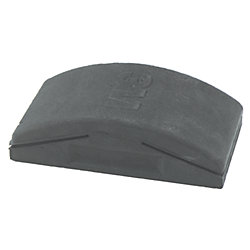 2.75X5IN FIRM RUBBER SANDING BLOCK