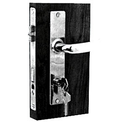 PC MORTISE CYL LOCK LH
