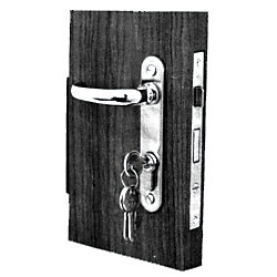 PC LH CYLINDER MORTISE LOCK