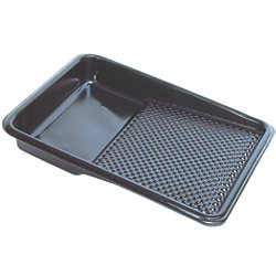 Disposable Paint Tray Liner - Black Plastic