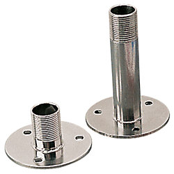 STAINLESS FIXED ANTENNA MOUNT 4.5IN