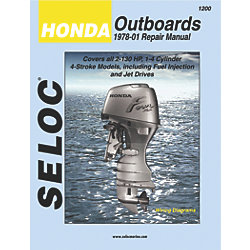 HONDA OUTBOARDS ALL ENG 1978-2001