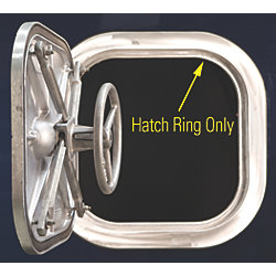 GALVANIZED RING ONLY F/ 24X24 HATCH