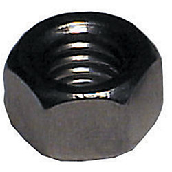 6MM SS HEX NUT