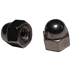 5/16-24 FINE THREAD SS CAP NUT