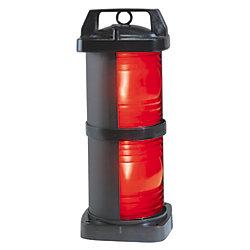 24/120/220V 3NM BLK DBL SIDELIGHT RED