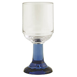 *EA* GOBLET 8OZ PACIFIC BLUE STEM