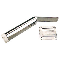 STAINLESS REMOVABLE ROD HOLDER