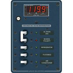 120V A SERIES PANEL 5 POS MULTIMETER