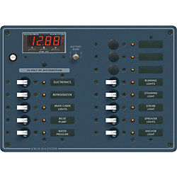 12V A SERIES PANEL 13 POS MULTIMETER